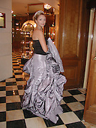 Xenia Gorbachev. Crillon Debutantes Ball 2002. Paris. 7 December 2002. © Copyright Photograph by Dafydd Jones 66 Stockwell Park Rd. London SW9 0DA Tel 020 7733 0108 www.dafjones.com