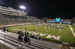 Dec 18, 2020; Huntington, West Virginia, USA; The UAB Blazers and Marshall Thundering Herd warm up before their game at Joan C. Edwards Stadium. Mandatory Credit: Ben Queen-USA TODAY Sports