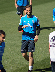 May 4, 2019 - Madrid, Madrid, Spain - Nacho of Real Madrid in action during training day, May 04th, in Ciudad Deportiva Real Madrid, in Valdebebas, Madrid, Spain. (Credit Image: © AFP7 via ZUMA Wire)