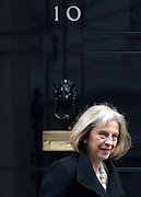 © Licensed to London News Pictures. 05/03/2013. Westminster, UK Home Secretary Theresa May. Ministers after a Cabinet Meeting at number 10 Downing Street on 5th March 2013. Photo credit : Stephen Simpson/LNP