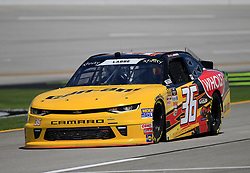 April 27, 2018 - Talladega, AL, U.S. - TALLADEGA, AL - APRIL 27:  Alex Labbe, DGM Racing, Chevrolet Camaro Can-Am / Wholey / Cyclops Gear during practice for the NASCAR Xfinity Series Sparks 300 race on April 27, 2018, at the Talladega Superspeedway in Talladega, AL.  (Photo by David John Griffin/Icon Sportswire) (Credit Image: © David J. Griffin/Icon SMI via ZUMA Press)