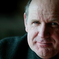 Nederland. Hilversum.28 februari 2004..Philip Freriks, schrijver, presentator en voormalig nieuwslezer NOS.