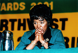 File photo: 29/08/1999 Winnie Madikizela-Mandela <br /> Picture: John Robinson/African News Agency(ANA) Archives
