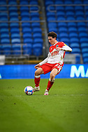 Millwall's Billy Mitchell (23) in action during the EFL Sky Bet Championship match between Cardiff City and Millwall at the Cardiff City Stadium, Cardiff, Wales on 30 January 2021.