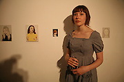Emma Puntis, Anticipation.- Produced by Flora Fairbairn. Curated by Kay Saatchi and Catriona Warren. 111 Great Titchfield St. London W1. 23 May 2007.  -DO NOT ARCHIVE-© Copyright Photograph by Dafydd Jones. 248 Clapham Rd. London SW9 0PZ. Tel 0207 820 0771. www.dafjones.com.