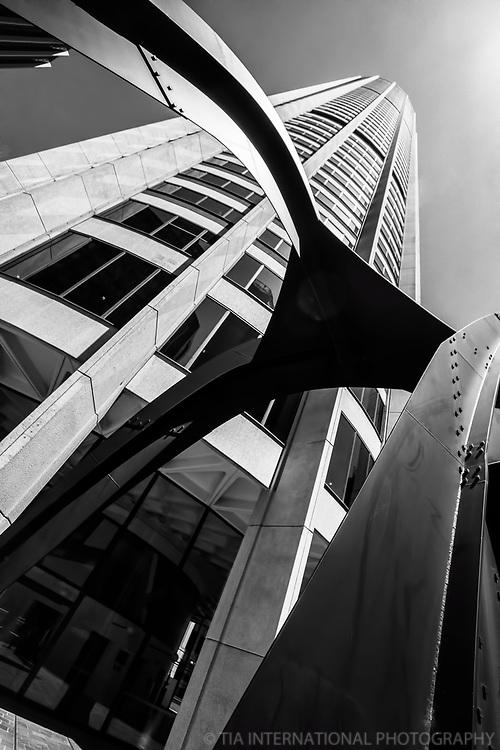 Australia Square Tower featuring Calder Sculpture