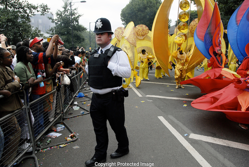 Performers at Notting Hill Carnival 2008