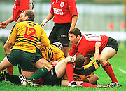 Old Deer Park, Richmond. London Welsh vs Henley Hawks  Intersport<br /> <br /> National League Division 1<br /> London Welsh v Henley<br /> <br /> London Welsh Centre Scott Roskell