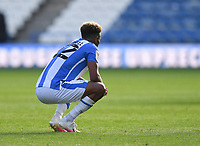 A dejected Huddersfield Town's Fraizer Campbell at the final whistle<br /> <br /> Photographer Dave Howarth/CameraSport<br /> <br /> The EFL Sky Bet Championship - Huddersfield Town v Norwich - Saturday September 12th 2020 - The John Smith's Stadium - Huddersfield<br /> <br /> World Copyright © 2020 CameraSport. All rights reserved. 43 Linden Ave. Countesthorpe. Leicester. England. LE8 5PG - Tel: +44 (0) 116 277 4147 - admin@camerasport.com - www.camerasport.com