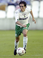 Fotball<br /> Spania 2003/2004<br /> Racing Santander<br /> Yossi Shai Benayoun<br /> Foto: Digitalsport<br /> Norway Only
