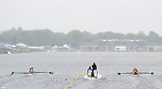 Eton. Great Britain.  A heat of the JM4+ in progress on the  Eton Rowing Centre Course Left USA JM4+ and Right NZL JM4+.  2011 FISA Junior  World Rowing Championships. Dorney Lake, Nr Windsor. Thursday, 04/08/2011  [Mandatory credit: Peter Spurrier Intersport Images]