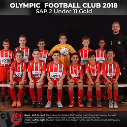 Olympic FC SAP 2 Under 11 Gold 2018