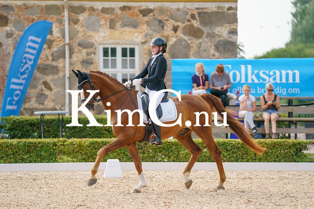 Olivia Falk<br /> Roslagens Rid och Körklubb<br /> 61<br /> Freo<br /> Gelding / SWB / fx / 2008 / Fetcher N x Briar / Lena Nilsson / Ulrika Falk Photo: KimC.nu by Ateni AB