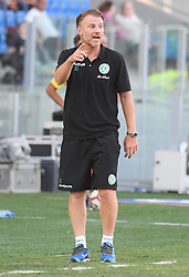 July 20, 2018 - Frosinone, Lazio, Italy - Michele Marcolini during the Pre-Season Friendly match between AS Roma and Avellino at Stadio Benito Stirpe on July 20, 2018 in Frosinone, Italy. (Credit Image: © Silvia Lore/NurPhoto via ZUMA Press)