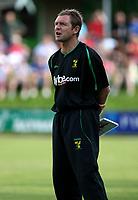 Photo: Maarten Straetemans.<br /> AGOVV Apeldoorn v Norwich City. Pre Season Friendly. 21/07/2007.<br /> Manager Peter Grant