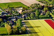 Nederland, Noord-Holland, Gemeente Medemblik, 07-05-2018; <br /> Het dorp Twisk, met kenmerkende stolp boerderijen, beschermd dorpsgezicht <br /> The village of Twisk, with characteristic farmhouses, protected heritage.<br /> <br /> luchtfoto (toeslag op standard tarieven);<br /> aerial photo (additional fee required);<br /> copyright foto/photo Siebe Swart