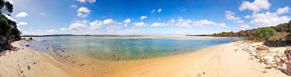Beach on southern NSW coast