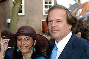 Zijne Hoogheid Prins Floris van Oranje Nassau, van Vollenhoven en mevrouw mr. A.L.A.M. Söhngen zijn zaterdag 22 oktober in de kerk van Naarden in het  huwelijk getreden. De prins is de jongste zoon van Prinses Magriet en Pieter van Vollenhoven.<br /> <br /> Church Wedding Prince Floris and Aimée Söhngen. <br /> <br /> Church Wedding Prince Floris and Aimée Söhngen in Naarden. The Prince is the youngest son of Princess Margriet, Queen Beatrix's sister, and Pieter van Vollenhoven. <br /> <br /> Op de foto / On the photo;<br /> <br /> Ivo Niehe