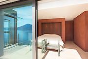 modern architecture, Interior, beautiful penthouse, bedroom