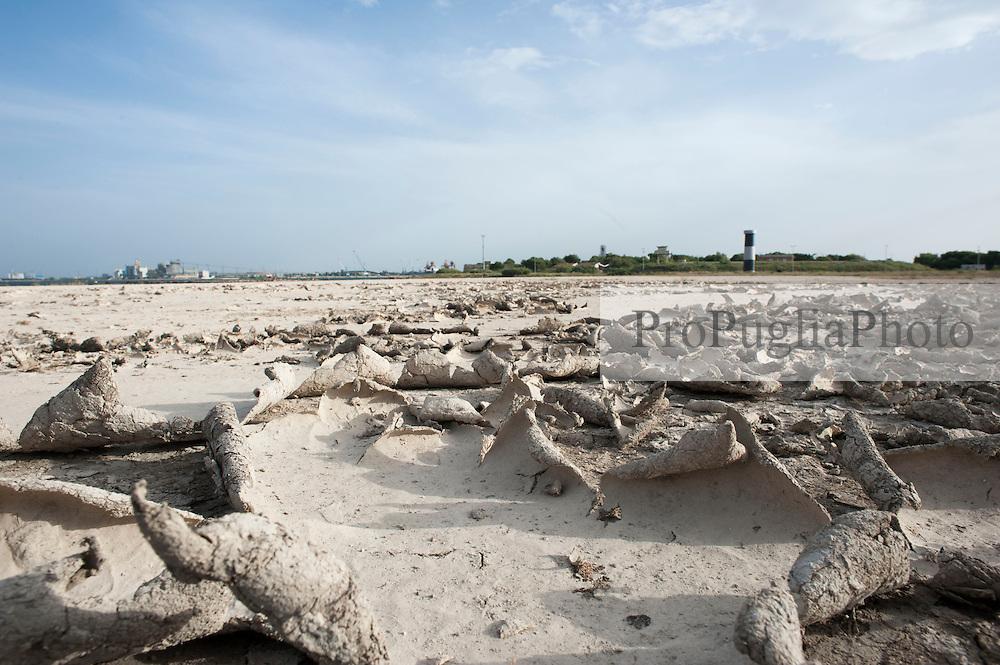 Brindisi, vecchio Faro di Punta Riso, nei pressi dell'isola di S. Andrea