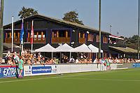 Den Haag - Het clubhuis van Klein Zwitserland , zondag tijdens de Rabo Hoofdklasse Dameswedstrijd tussen KZ en Hurley (1-2). Foto KOEN SUYK