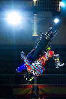 Australian Fmx rider Clinton Moore during qualifying Red Bull X-Fighters 2016 at Madrid. 22,06,2016. (ALTERPHOTOS/Rodrigo Jimenez)