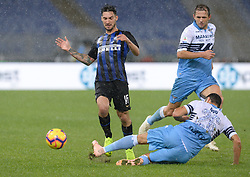 October 29, 2018 - Italy - Matteo Politano during the Italian Serie A football match between S.S. Lazio and Inter at the Olympic Stadium in Rome, on october 29, 2018. (Credit Image: © Silvia Lor/Pacific Press via ZUMA Wire)