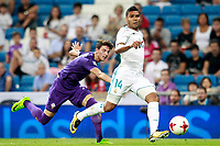 Real Madrid's  and ACF Fiorentina's  during Santiago Bernabeu Trophy. August 23,2017. (ALTERPHOTOS/Acero)