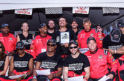 """LONG BEACH, CA - APRIL 17   Actor Josuha Morrow of the number one Daytime Soap """"The Young and Restless"""" wins pole position for the 2015 Toyota Celebrity.PRO Race. Byline, credit, TV usage, web usage or linkback must read SILVEXPHOTO.COM. Failure to byline correctly will incur double the agreed fee. Tel: +1 714 504 6870."""