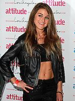 Nikki Grahame, Attitude Magazine's Hot 100 Summer Party, The Rumpus Room at the Mondrian Hotel, London UK, 20 July 2015, Photo by Brett D. Cove