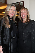 AMANDA WAKELEY;  MAXINE BENSON, Natwest Everywoman awards reception. The Dorchester Hotel. London. 5 December 2012.
