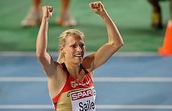 29.07.2010, Olympic Stadium, Barcelona, ESP, European Athletics Championships Barcelona 2010, im Bild Verena Sailer GER wins the 100 meter . GER EXPA Pictures © 2010, PhotoCredit: EXPA/ nph/ . Ronald Hoogendoorn+++++ ATTENTION - OUT OF GER +++++