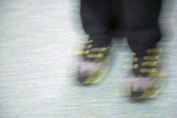 Anonymous pair of men's feet