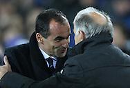 Roberto Martinez manager of Everton - UEFA Europa League - Everton vs  Lille - Goodison Park Stadium - Liverpool - England - 6th November 2014 - Pic Simon Bellis/Sportimage