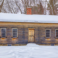 Country winter landscape photography of the beautiful historic Robbins House at the Minute Man National Historical Park in Concord, Massachusetts.<br /> <br /> Massachusetts rural scenery photography images of the Robbins House are available as museum quality photo, canvas, acrylic, wood or metal prints. Wall art prints may be framed and matted to the individual liking and interior design decoration needs:<br /> <br /> https://juergen-roth.pixels.com/featured/the-historic-robbins-house-juergen-roth.html<br /> <br /> Good light and happy photo making!<br /> <br /> My best,<br /> <br /> Juergen