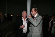 Sir Frederick Forsyth and Ed Victor, ' Show Off' Theo Fennell exhibition co-hosted wit Vanity Fair. Royal Academy. Burlington Gdns. London. 27 September 2007. -DO NOT ARCHIVE-© Copyright Photograph by Dafydd Jones. 248 Clapham Rd. London SW9 0PZ. Tel 0207 820 0771. www.dafjones.com.