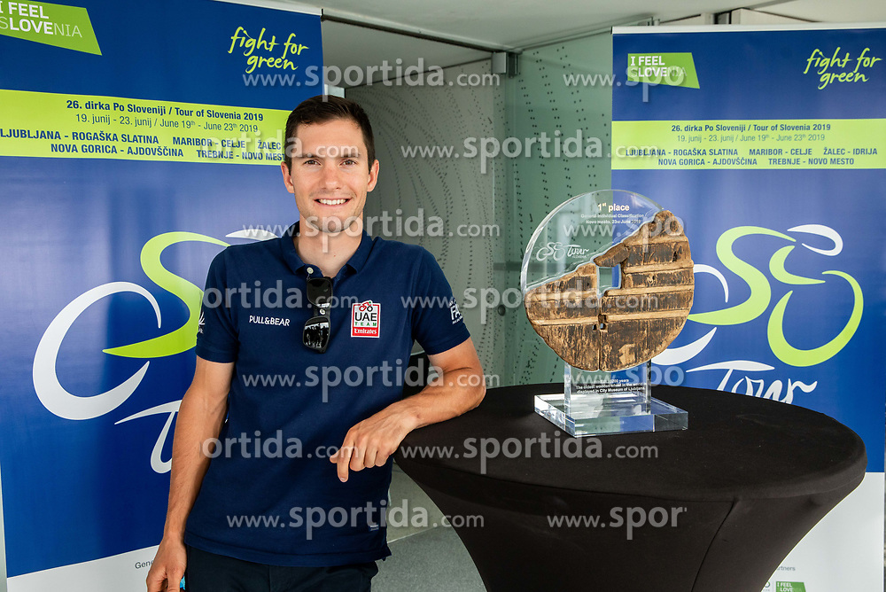Jan Polanc during press conference of cycling race Tour od Slovenia 2019 1 day before the competition, on June 18, 2019 in Ljubljana's castle, Ljubljana, Slovenia. Photo by Vid Ponikvar / Sportida