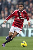 """ROBINHO (MILAN)<br /> Cesena 19/02/2012 Stadio """"Dino Manuzzi""""<br /> Serie A 2011/2012<br /> Football Calcio Cesena Vs Milan<br /> Foto Insidefoto Luca Pagliaricci"""
