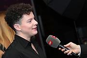 Ehemaliger Kunstturner und Sänger Lucas Fischer anlässlich der Glory-Verleihung 2018 am 12. Januar 2019 im Aura Club Zürich.