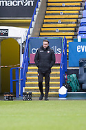 Bolton Wanderers manager Ian Evatt during the EFL Sky Bet League 2 match between Bolton Wanderers and Cheltenham Town at the University of  Bolton Stadium, Bolton, England on 16 January 2021.
