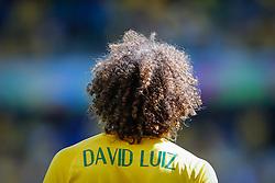 David Luiz na partida entre Brasil x Chile, válida pelas oitavas de final da Copa do Mundo 2014, no Estádio Mineirão, em Belo Horizonte. FOTO: Jefferson Bernardes/ Agência Preview