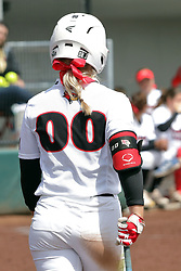 22 April 2017:  Annie Heineman during a Missouri Valley Conference (MVC) women's softball game between the Missouri State Bears and the Illinois State Redbirds on Marian Kneer Field in Normal IL