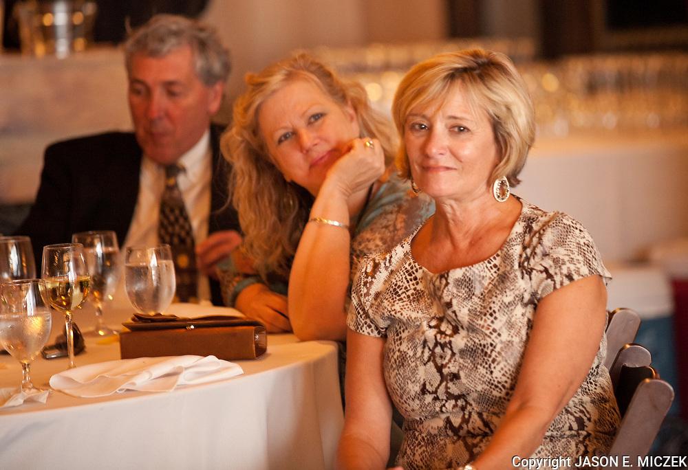 Lori and Ryan Donahoo wedding Friday, October 26, 2012 at the Magnolia Plantation Carriage House in Charleston, SC. Photo by Miczek Weddings