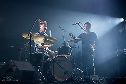 The Cinematic Orchestra performs at the Montreux Jazz Festival, Switzerland on July 12, 2017. Photo by Loona/ABACAPRESS.COM