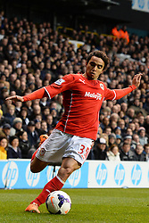 Cardiff's Fabio  - Photo mandatory by-line: Mitchell Gunn/JMP - Tel: Mobile: 07966 386802 02/03/2014 - SPORT - FOOTBALL - White Hart Lane - London - Tottenham Hotspur v Cardiff City - Premier League