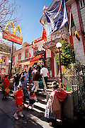 BOLIVIA, LA PAZ Mc Donald's restaurant on El Prado