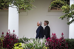 October 13, 2017 - Washington, District of Columbia, United States of America - United States Vice President Mike Pence and his chief of staff Nick Ayers, walk to the West Wing on Friday, October 13, 2017 at the White House in Washington, D.C.  .Credit: Al Drago / Pool via CNP (Credit Image: © Al Drago/CNP via ZUMA Wire)
