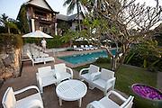 Mekong Estates guest house complex in Ban Saylom, Luang Prabang, Laos.