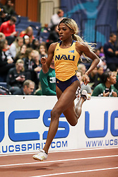 Don Kirby Invitational Indoor Track & Field<br /> Albuquerque, NM, Feb 14, 2020<br /> womens 400m, NAU