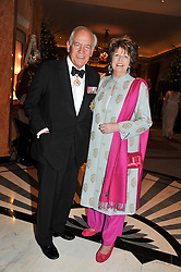 FIELD MARSHAL THE LORD GUTHERIE OF CRAIGIEBANK and LADY GUTHERIE at Fashion For The Brave held at The Dorchester Hotel, Park Lane, London on 20th September 2012.